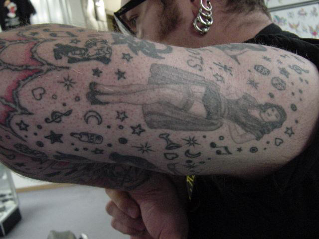 DaVo's Arm Tattoo