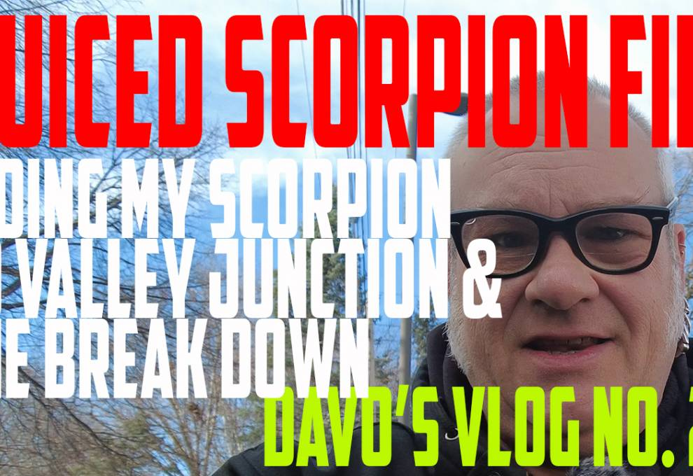 Juiced Bikes Scorpion ON FIRE - DJI Pocket 2 - DaVo's Vlog No  27 - https://youtu.be/IXQC44HlkMk